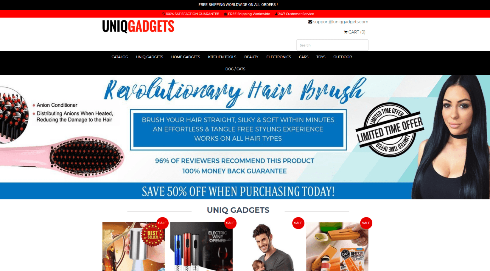 gadget-dropship-website-for-sale